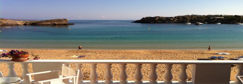 ADOSADO DUPLEX on the beach in Arenal d'en Castell