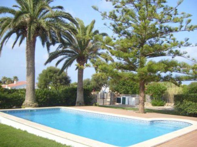 Chalet con piscina en Cap d'en Font