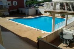 Apartamento con piscina en Es Castell