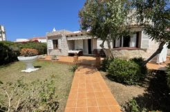 House in S'Algar with a big up terrace with sea views